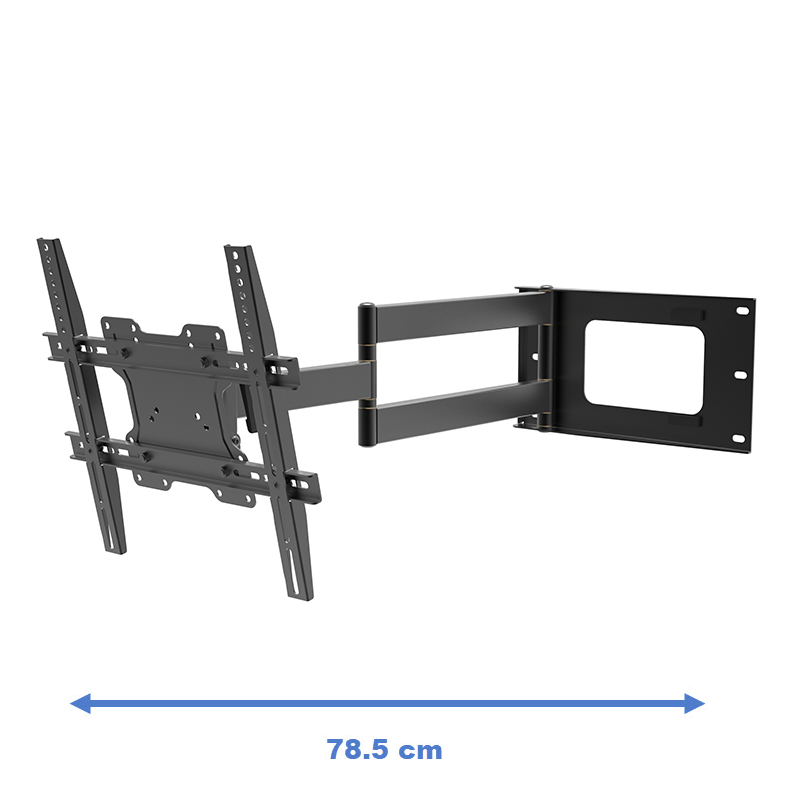 DQ Hercules Flex 400 Black - Cantilever TV bracket