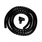 DQ Cable Sleeve 3m Black
